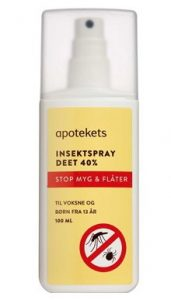 Apotekets myggespray til outdoor