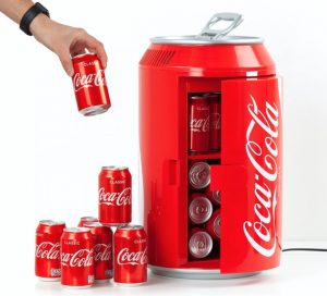Coca cola køleskab til 16 årlig