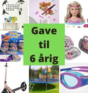Gave til 6-årig - gaveideer til piger og drenge på 6 år