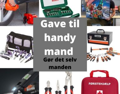Gave til gør det selv manden - perfekte gaveideer til en handymand