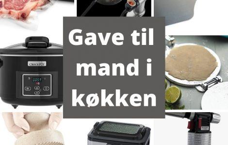 Gave til mand i køkken - guide til køkken gadgets